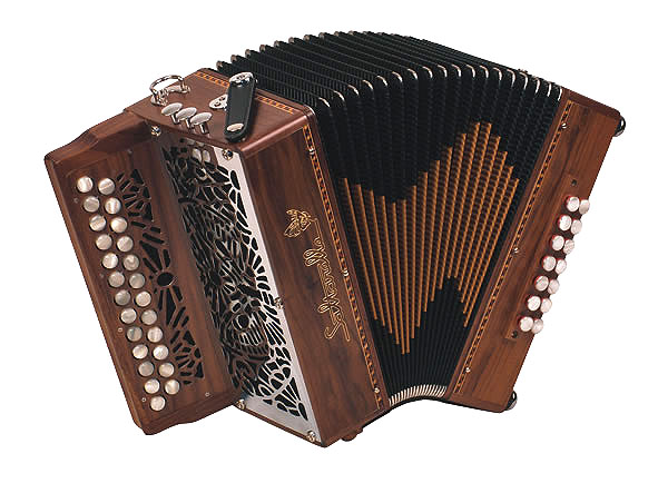 Saltarelle Atalante button accordion