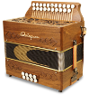 Two-Row Button Accordions