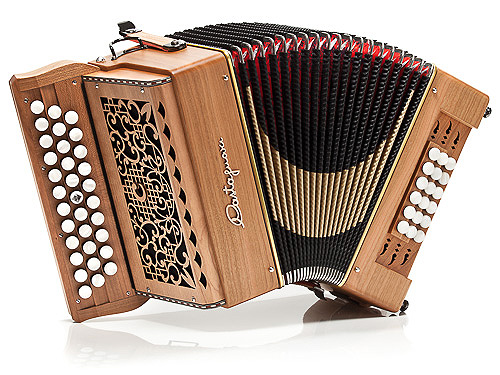 Castagnari Big 18 button accordion