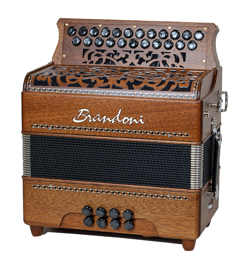 Brandoni Clover button accordion