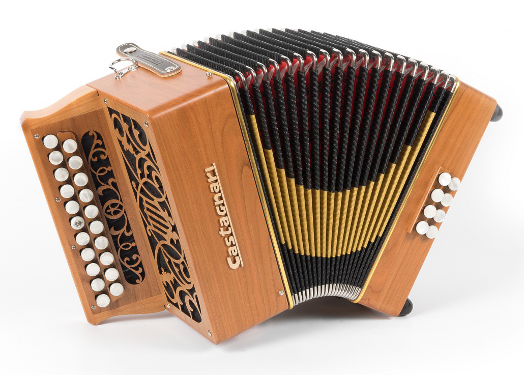Castagnari Brincu button accordion