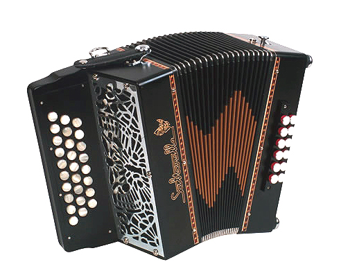 Saltarelle Cheviot button accordion