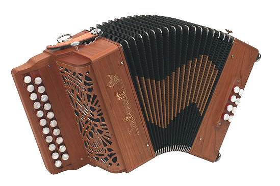 Saltarelle Elfique button accordion