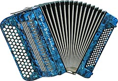 Weltmeister French chromatic accordion