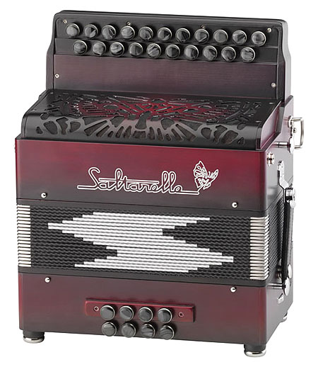Saltarelle Inferno button accordion