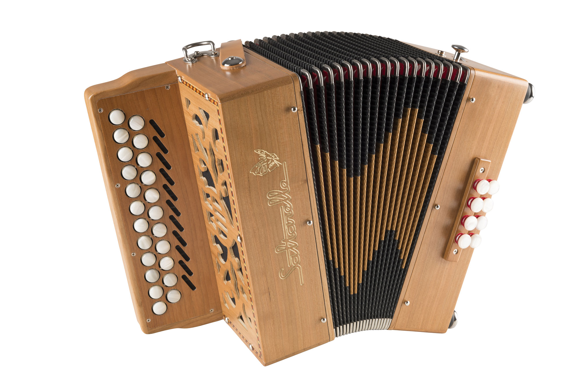 Saltarelle Irish Bouebe button accordion