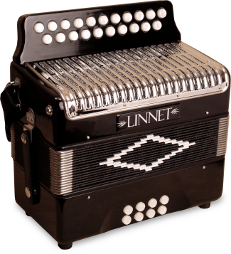 Linnet BC button accordion