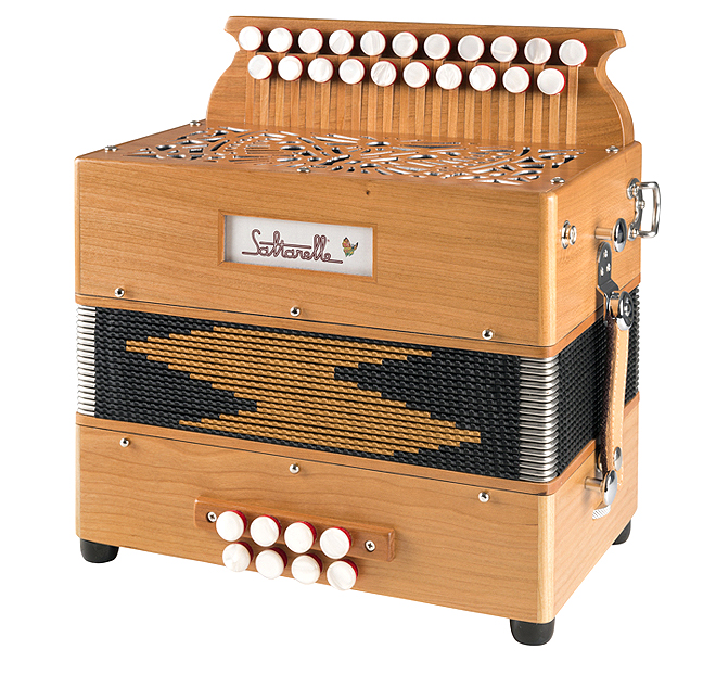 Saltarelle Marty button accordion