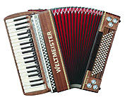 Weltmeister Monte piano accordion