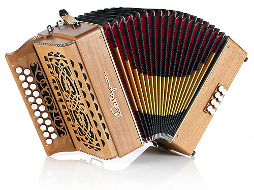 Castagnari MontMartre button accordion