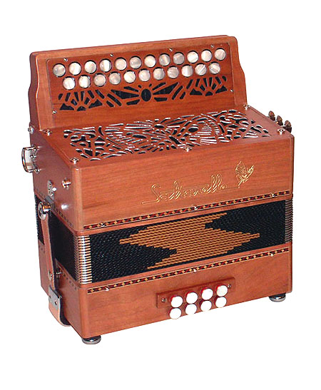 Saltarelle Nuage button accordion