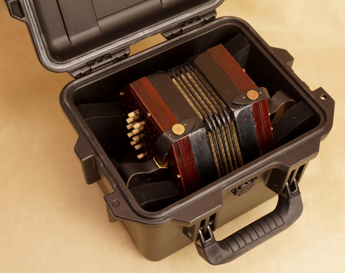 Brandoni Heather button accordion