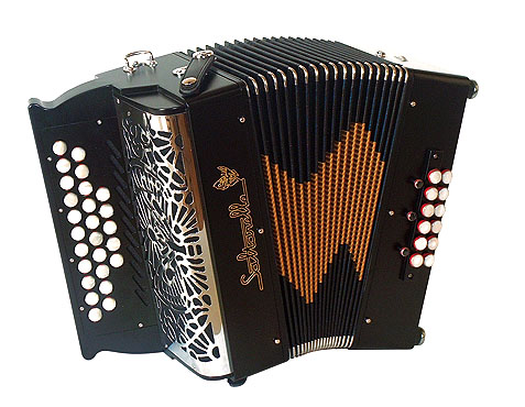 Saltarelle Rivage button accordion