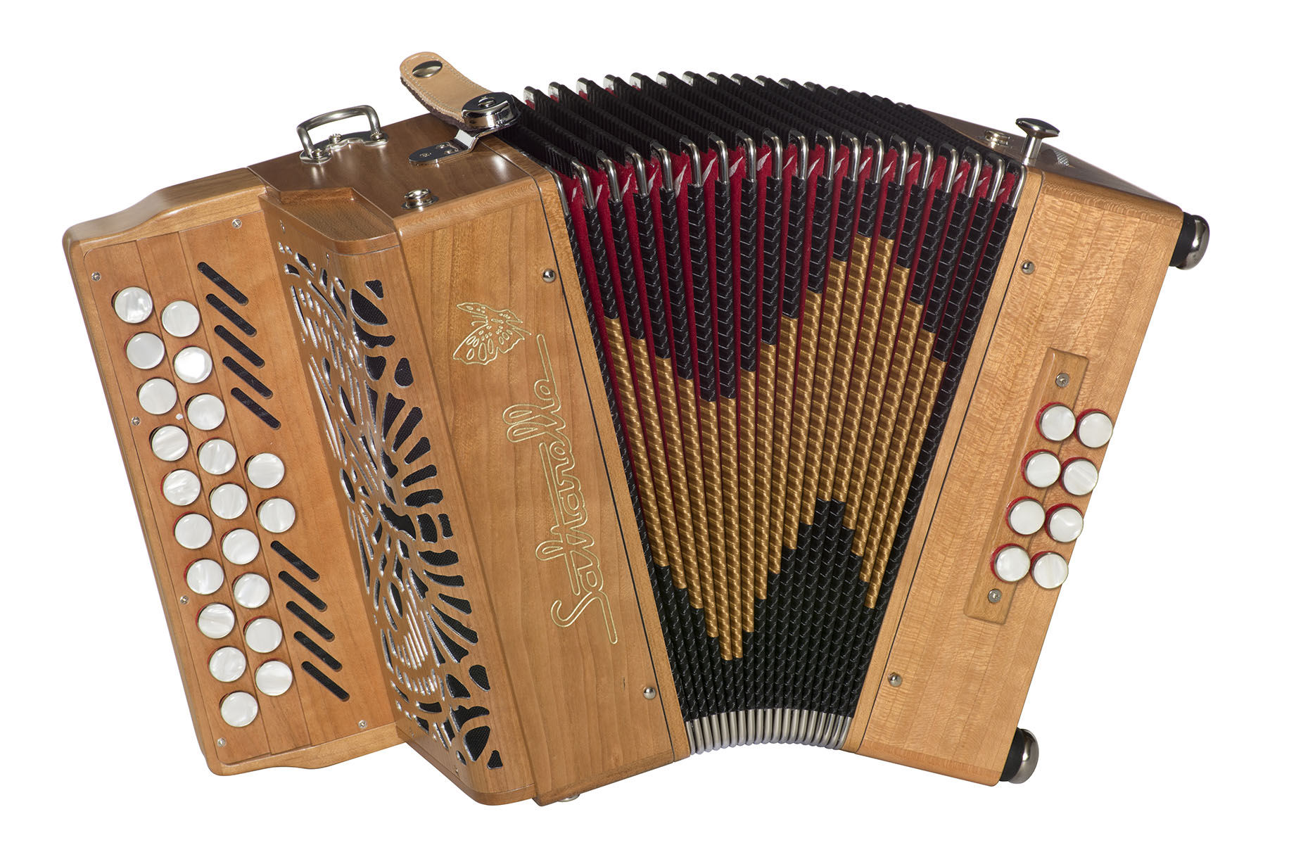 Saltarelle Selkie button accordion