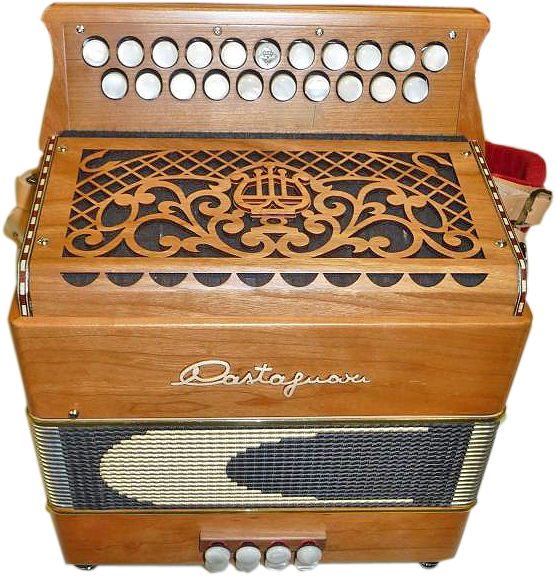 Castagnari Sharon button accordion