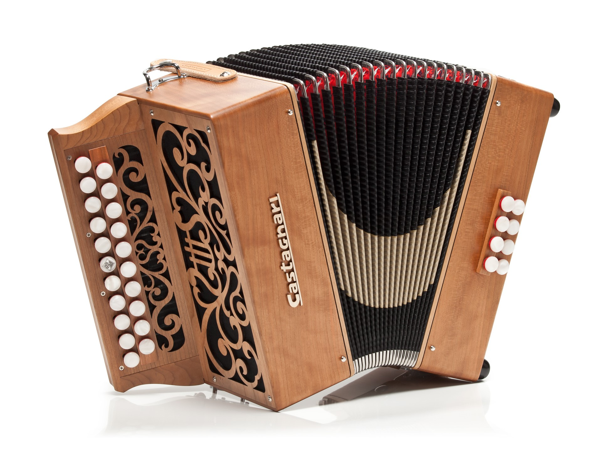 Castagnari Studio button accordion